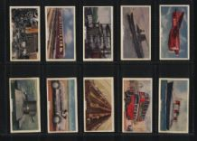 Tobacco cigarette cards This Mechanized Age
